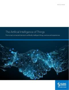 The Artificial Intelligence of Things