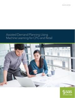 Assisted Demand Planning Using Machine Learning for CPG and Retail