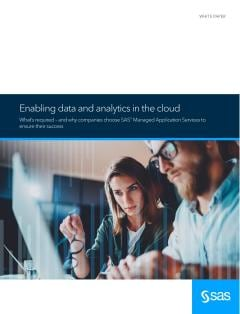 Enabling Data and Analytics in the Cloud