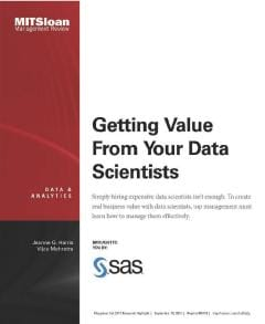 Getting Value From Your Data Scientists