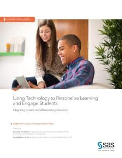 Using Technology to Personalize Learning and Engage Students