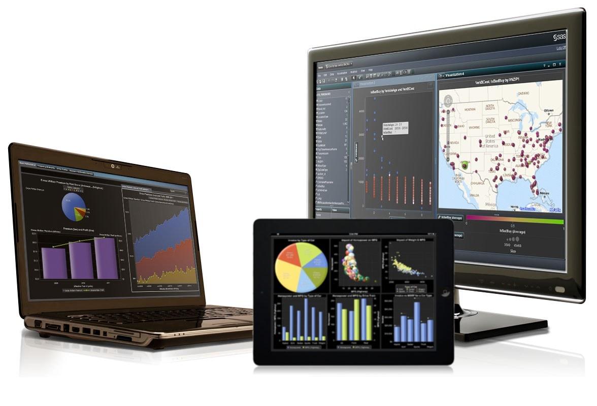SAS VA on multiple screens