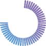 virtual friday clock 45 minutes purple