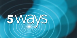 Five ways to approach analytics differently
