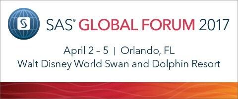 SAS Global Forum 2017