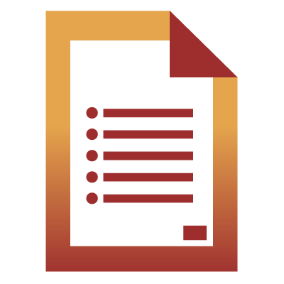 Fact Sheet Icon