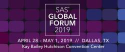 SAS Global Forum 2019