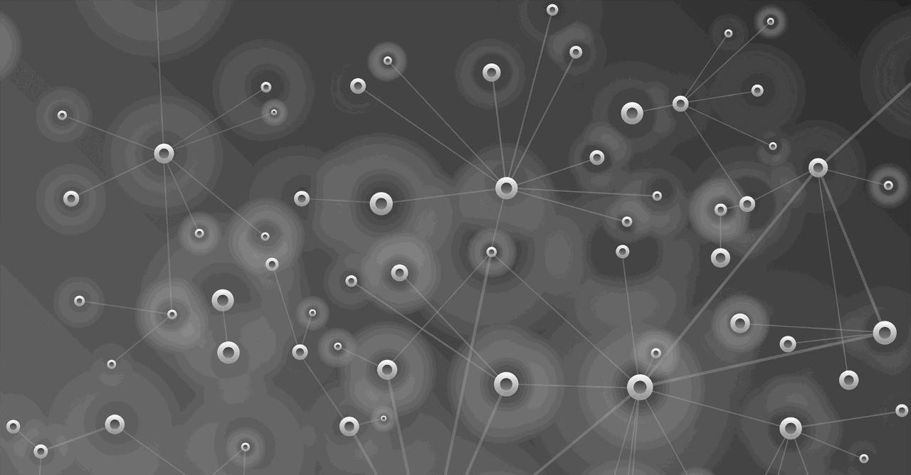 Data Visualization conceptual art screened