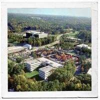 History 2000 campus aerial