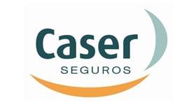 Caser Seguros logo - web case study