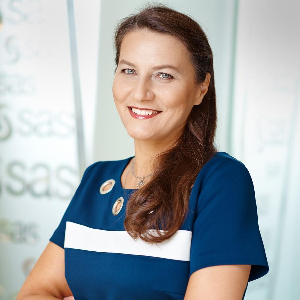 Alicja Wiecka, dyrektor zarządzająca SAS Institute Polska