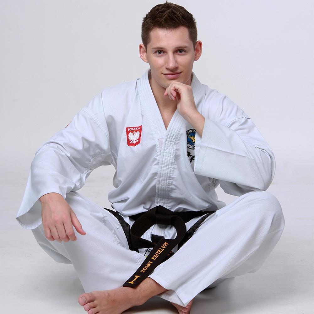 Mateusz Mróz sitting in a sportswear
