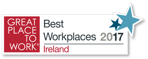 Great place to work - Best Workplaces Ireland 2017