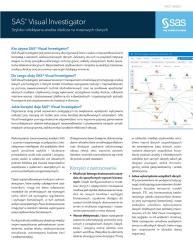 SAS Visual Investigator fact sheet thumbnail