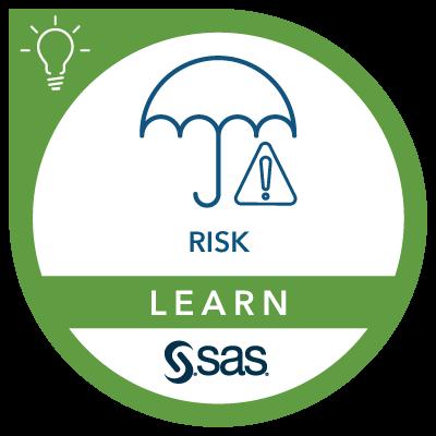 SAS Learn Badge for Risk