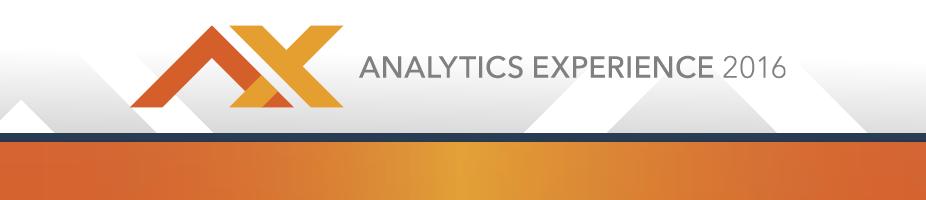 Analytics Experience 2016 CVENT Header
