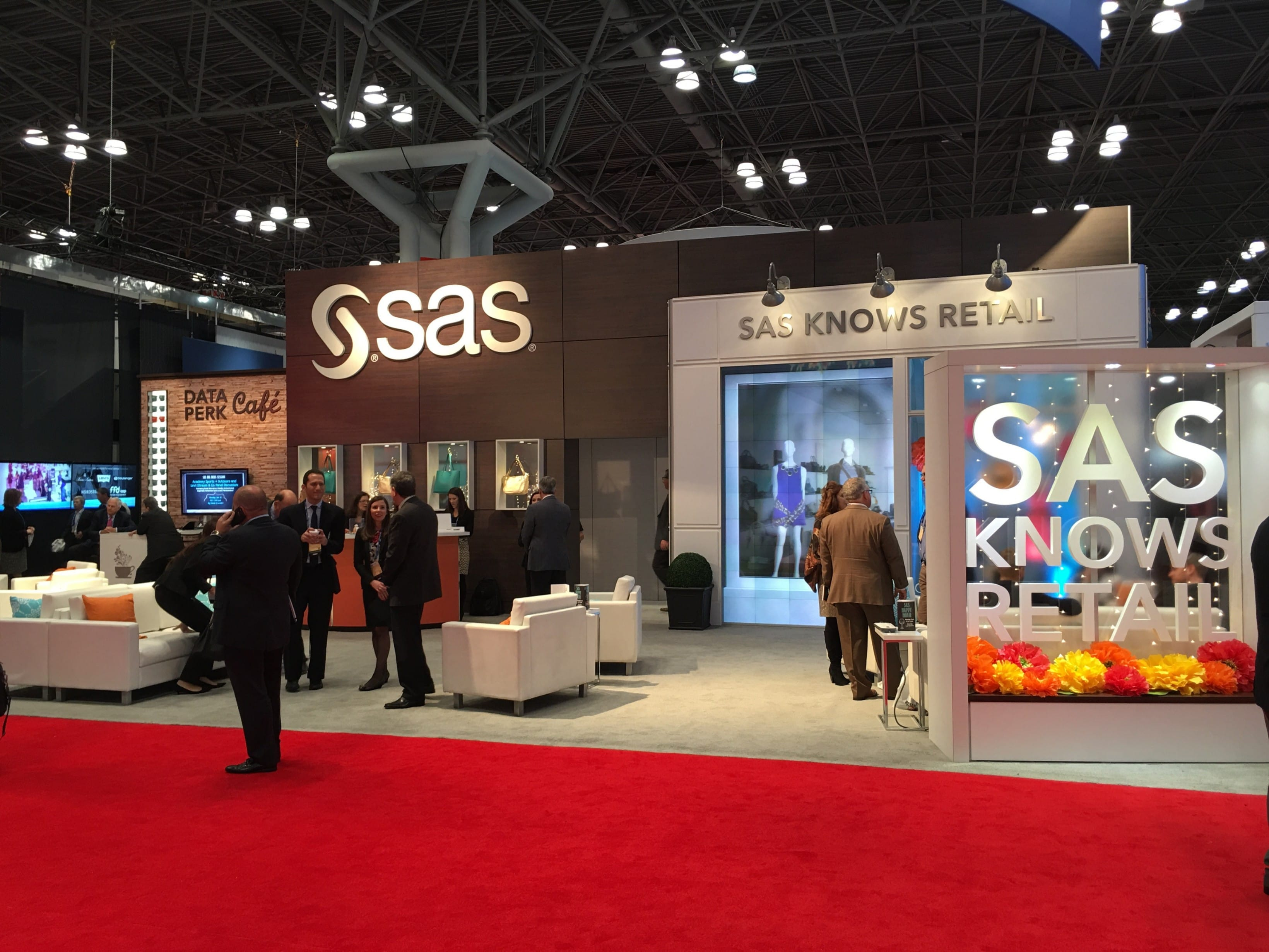 SAS demonstrates its IoT capabilities at NRF16 this week.