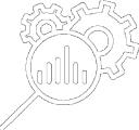 Research and Development icon white