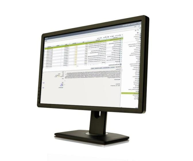 Screenshot of SAS Data Governance on desktop monitor
