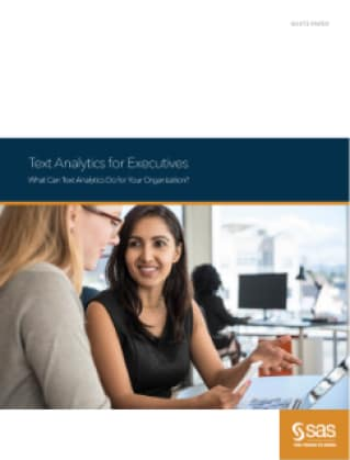 Text Analytics for Executives