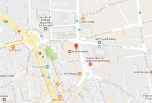 Sheraton Bucharest Hotel - Google Maps