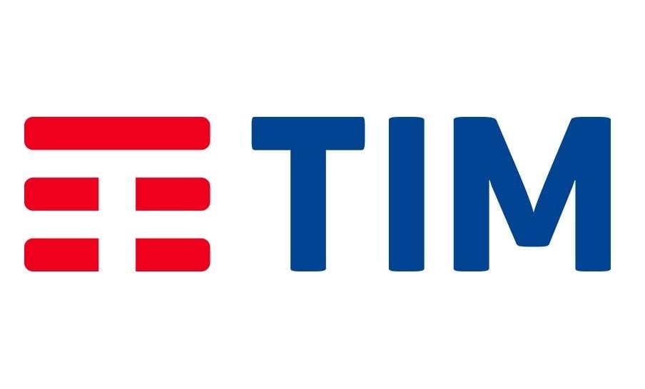 Telekom Italia logo - white