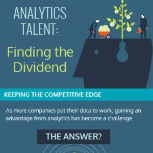 Analytics Talent Dividend infographic