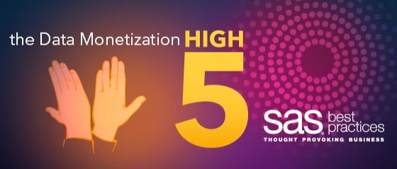 Data monetization high five