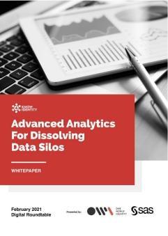 Advanced Analytics For Dissolving Data Silos