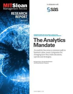 The Analytics Mandate