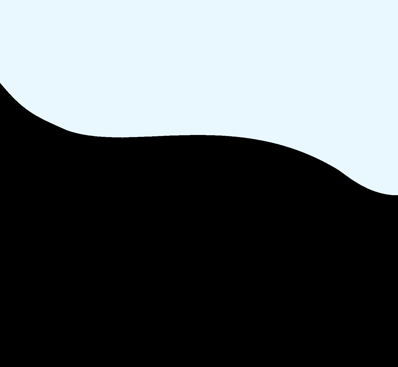 Light blue cloud shape background