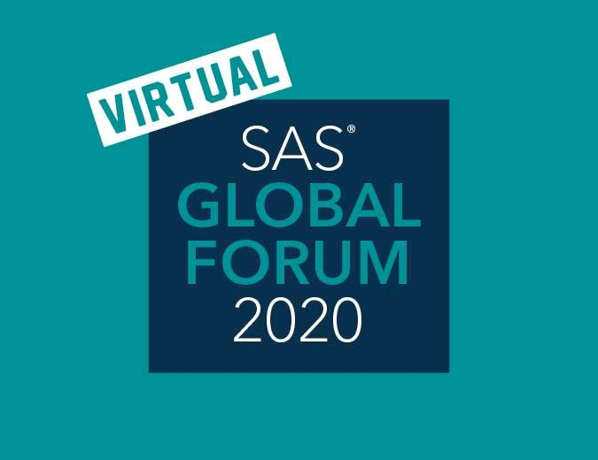 SAS Global Forum 2020 Virtual Conference