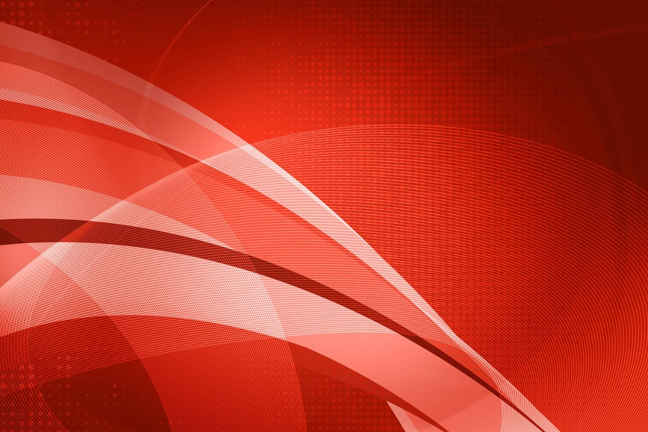 Abstract red line graphics