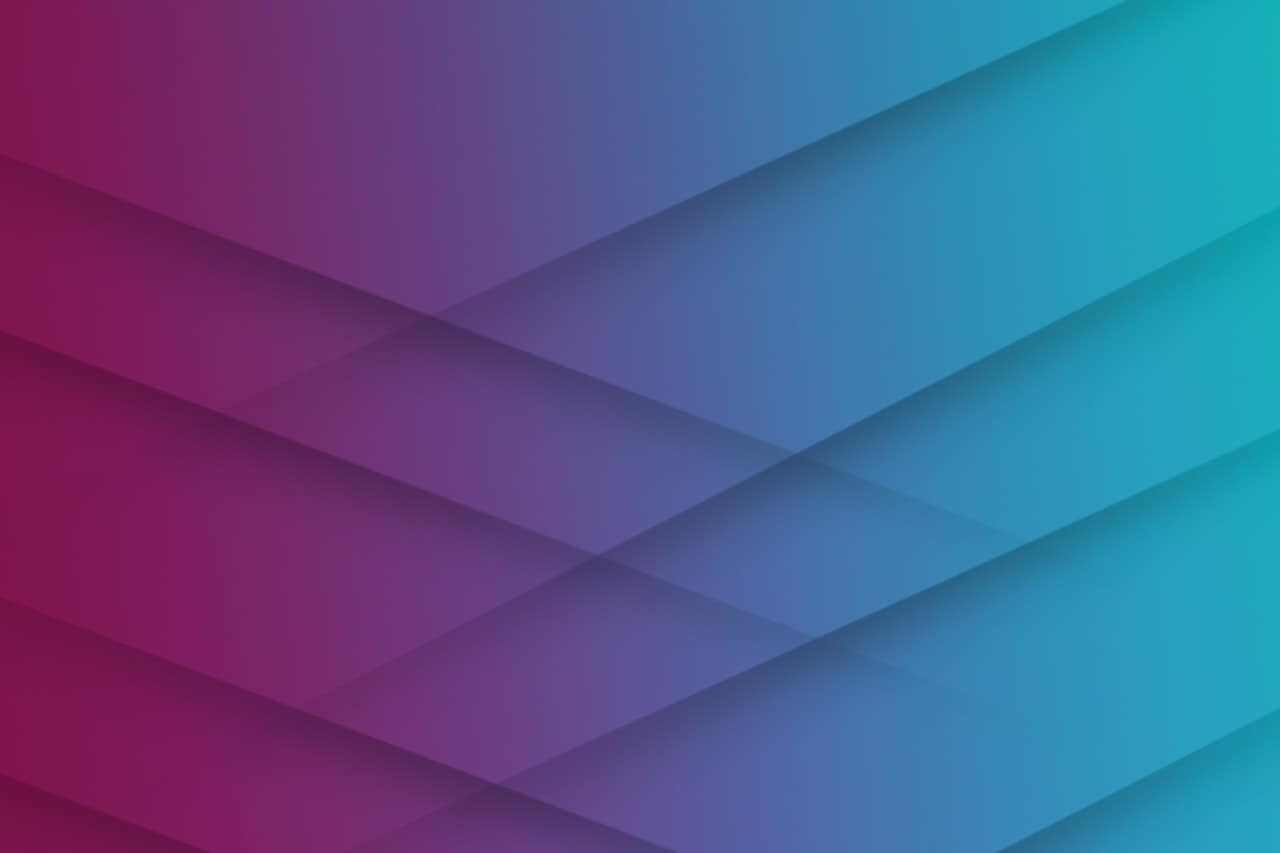 plum teal gradient with diagonal shadow lines