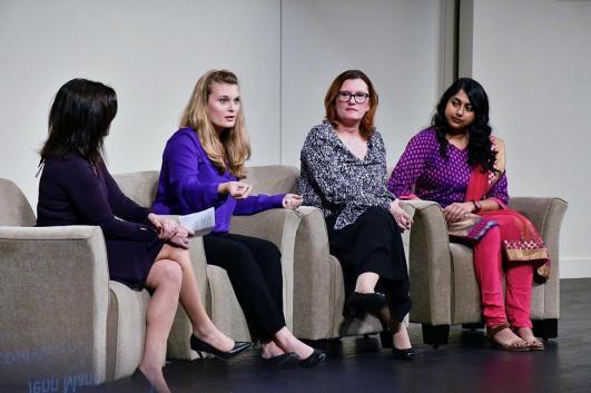 Women in STEM panel