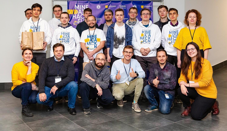 SAS Data Hack Platypus hackaton participants