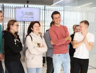 Экскурсии для студентов в SAS