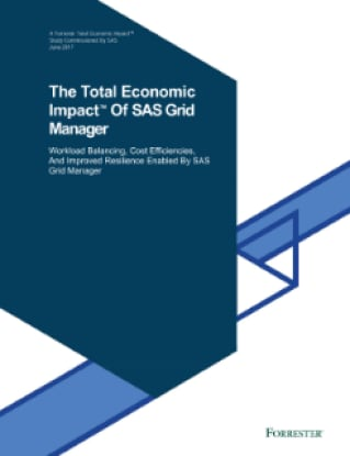 The Total Economic Impact™ Of SAS Grid Manager