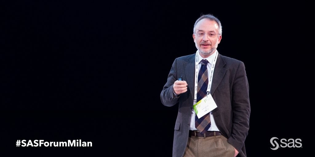 Stefano Mancuso - LINV, Università di Firenze at SAS Forum Milan 2016