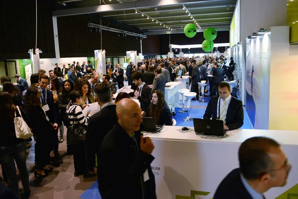 Plenary Session of SAS Forum Milan 2016 - Exhibition Area