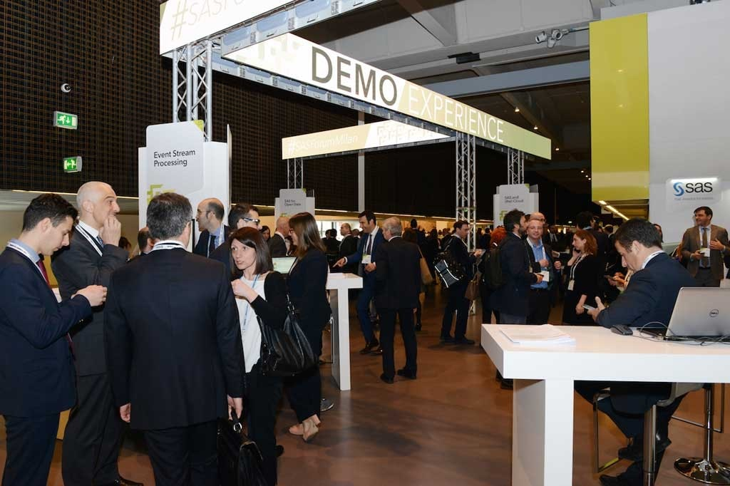 Demo Experience Area at SAS Forum Milan 2016