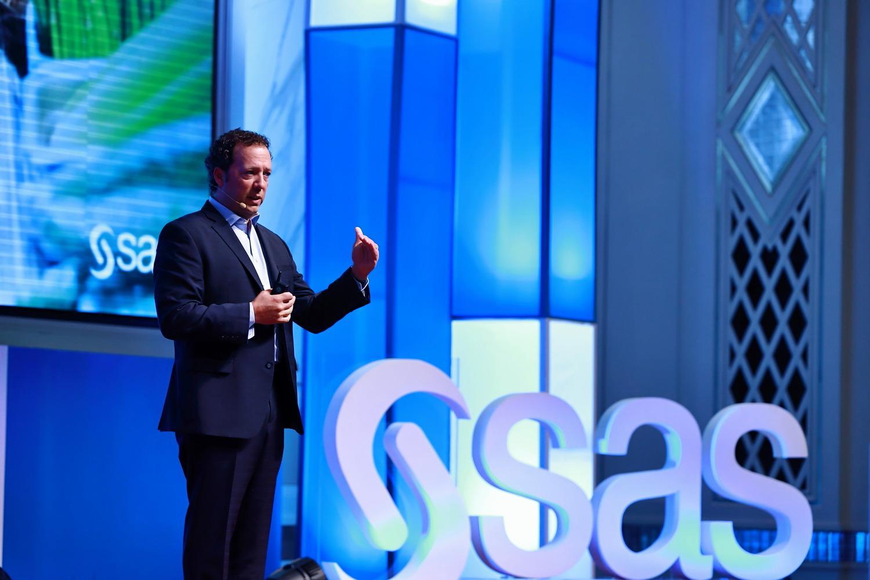 Jason Mann, VP of IoT delivers keynote address at SAS AIX Malaysia in Kuala Lumpur
