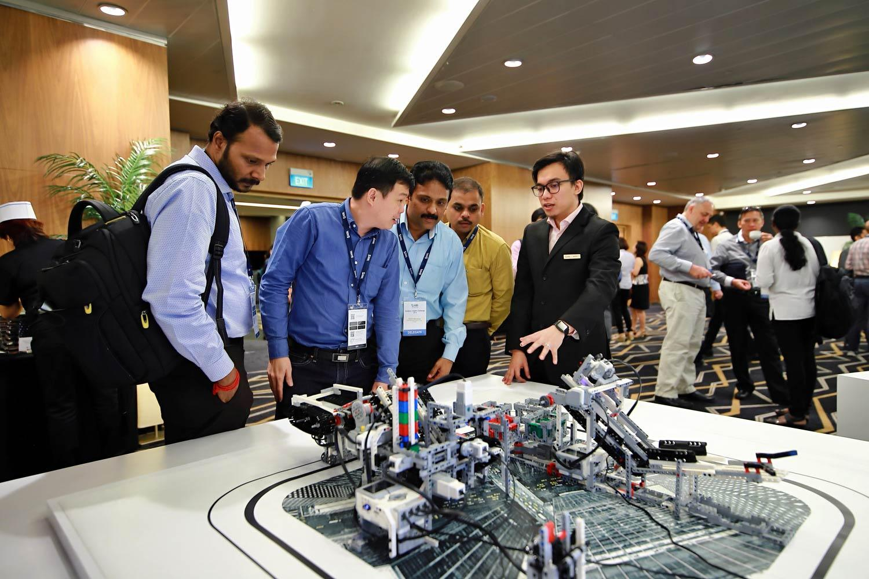 AI and IoT demo at SAS AIX Singapore