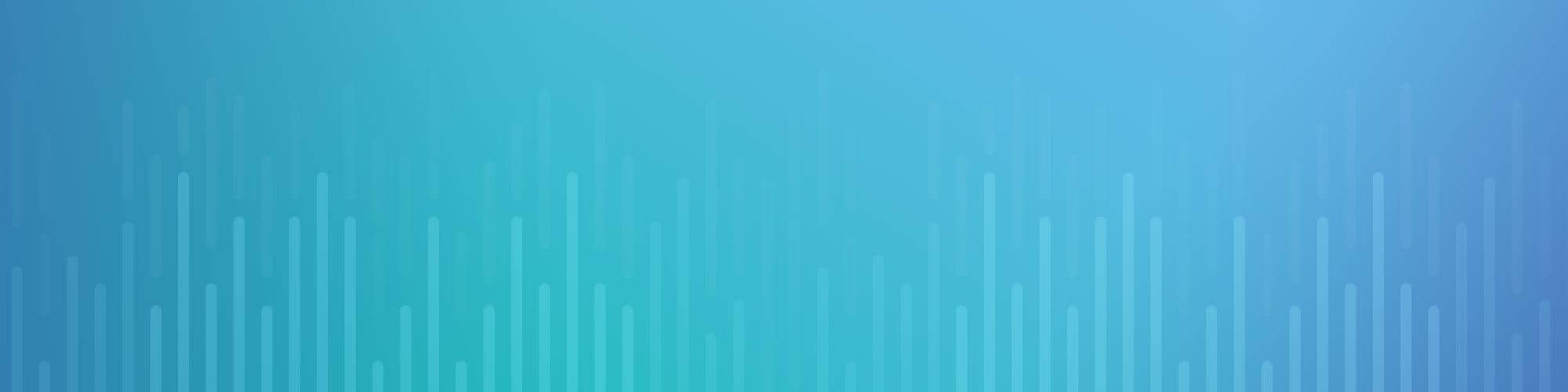 violet teal and blue bar chart