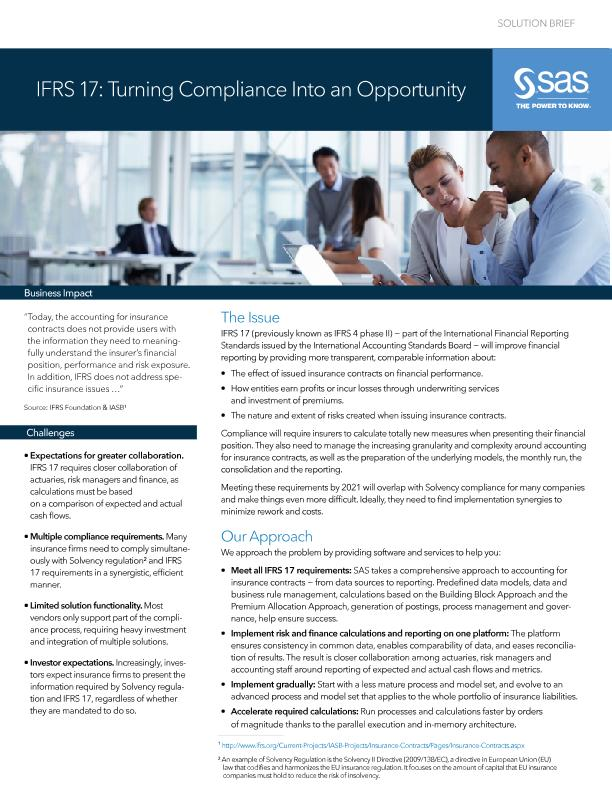 IFRS 17: Turning Compliance Into an Opportunity