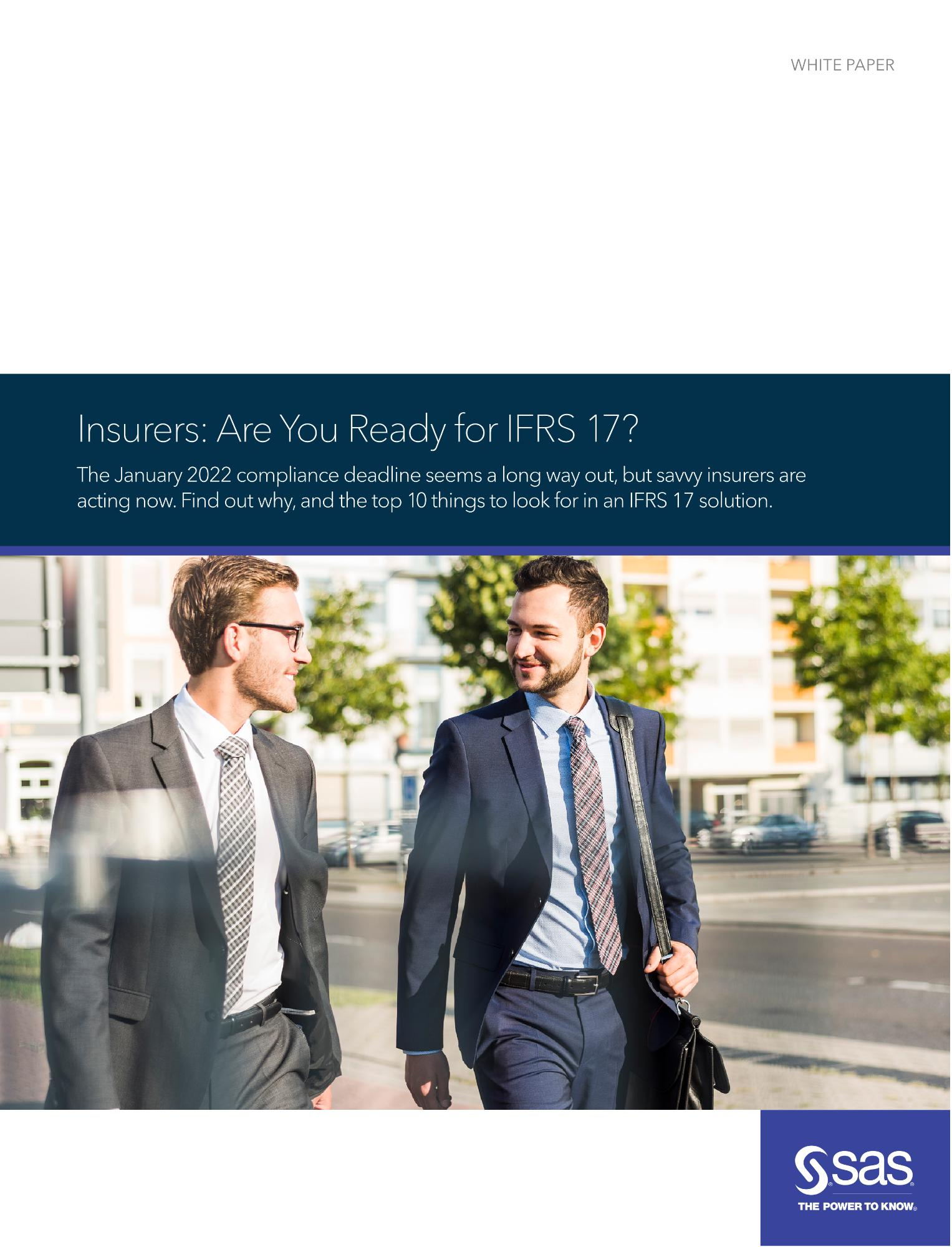 Insurers: Are You Ready for IFRS 17?
