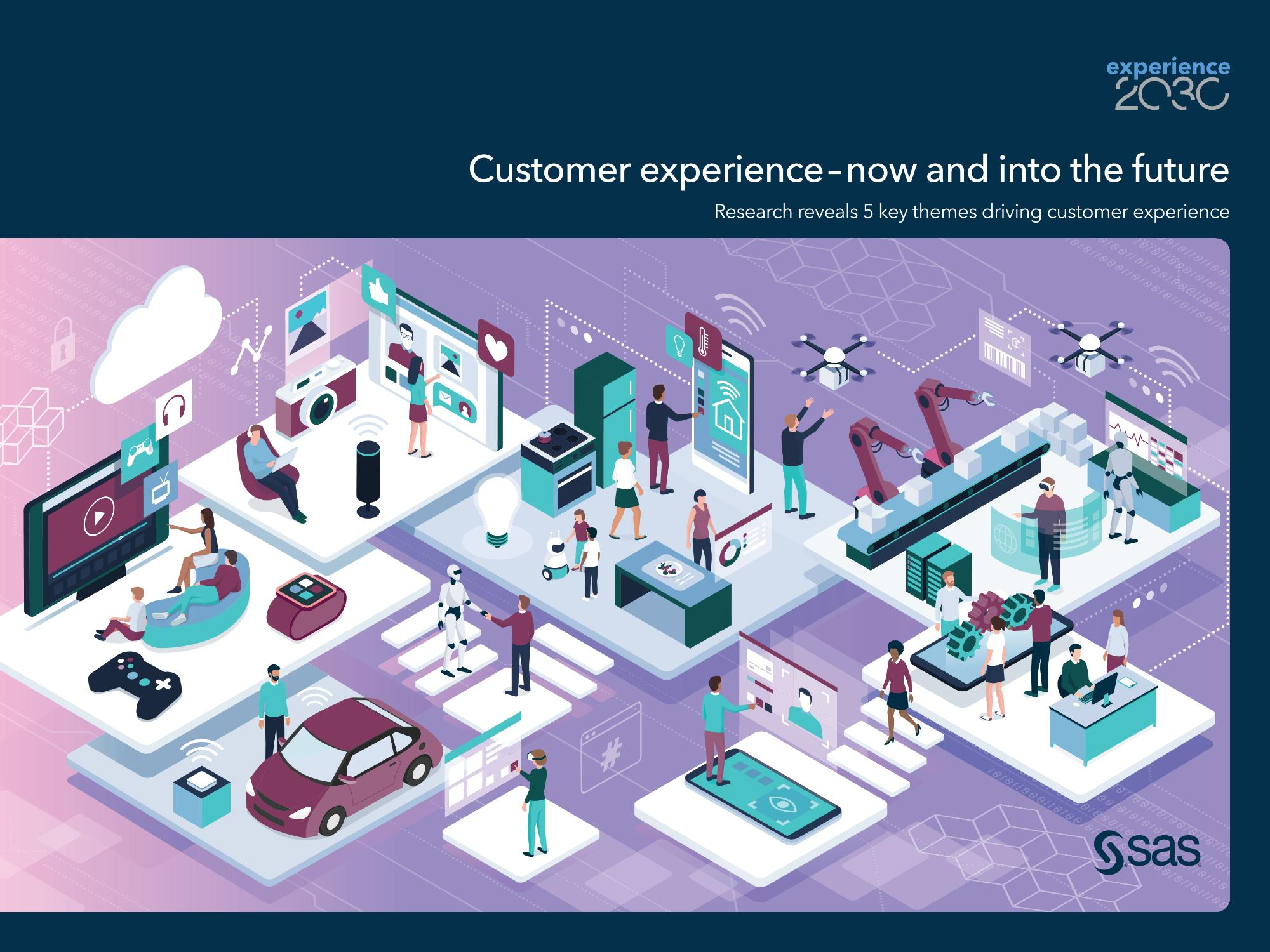 Customer experience - now and into the future