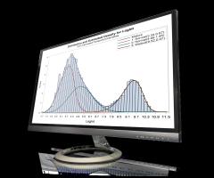 SAS/STAT shown on desktop monitor