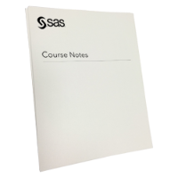 Forecasting Using SAS® Forecast Server Software Course Notes