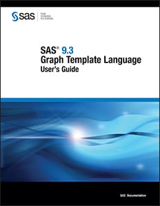 SAS® 9.3 Graph Template Language: User's Guide